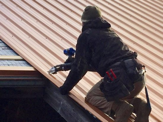 One of our roofing contractors